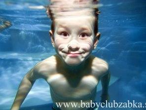Plávanie s bábätkami
